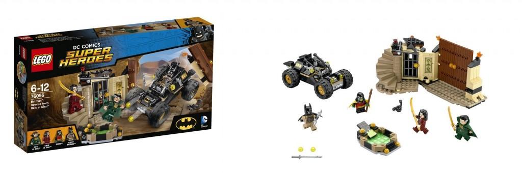 DC Comics Super Heroes LEGO 76065 Batman Rescue from Ra's al Ghul - Toysnbricks