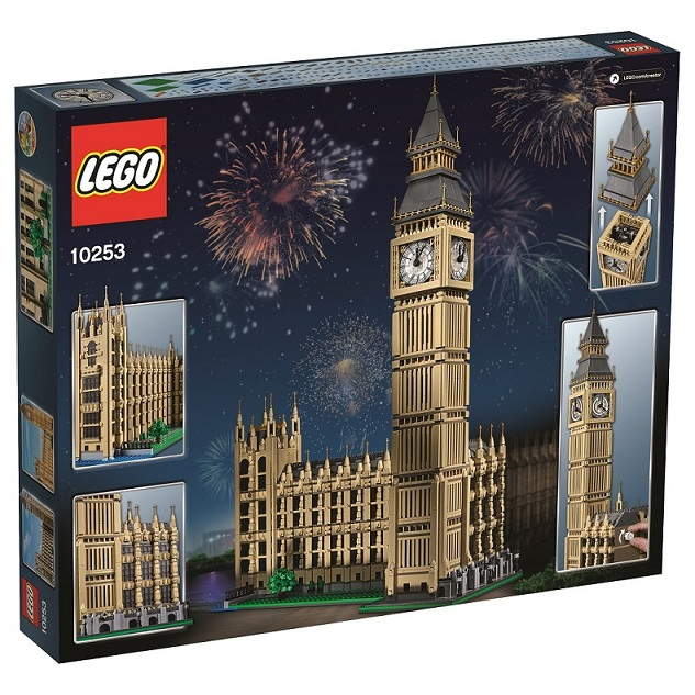 LEGO Creator 10253 Big Ben High Resolution Back Box - Toysnbricks