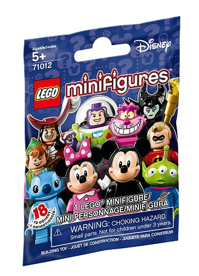 LEGO Disney Collectable Minifigures 71012 Packaging - Toysnbricks