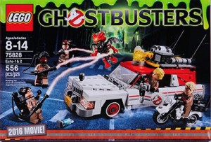 LEGO Ghostbusters 75828 Ecto-1 & 2 - 2016 Movie (pre)