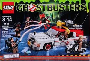 LEGO Ghostbusters 75828 Ecto-1 & 2 - 2016 Movie (pre)