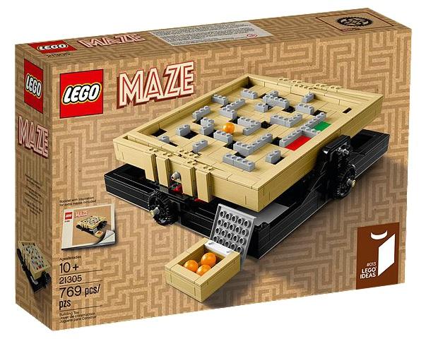 LEGO Ideas The Maze 21305 - Toysnbricks