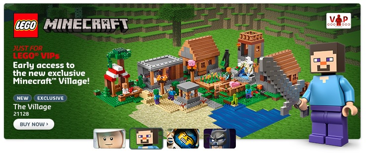 LEGO Minecraft The Village 21128 VIP Early Release - Toysnbricks