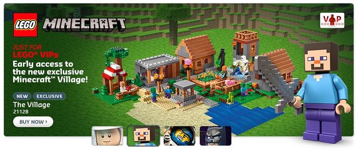 LEGO Minecraft The Village 21128 VIP Early Release - Toysnbricks