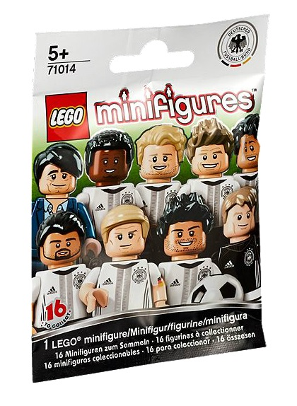 LEGO Minifigures 71014 DFB – The Mannschaft Packet - Toysnbricks
