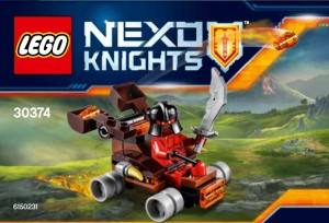 LEGO Nexo Knights 30374 The Lava Slinger Polybag Set - Toysnbricks