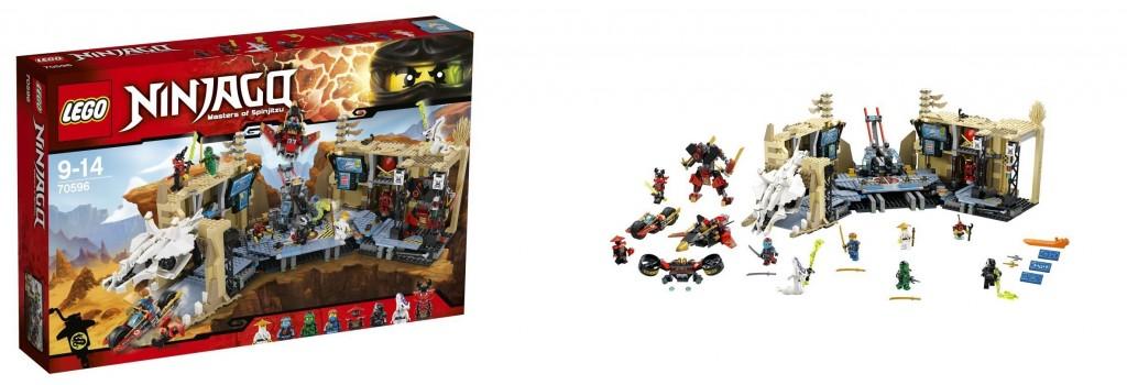 LEGO Ninjago 70596 Samurai X Wave - Toysnbricks