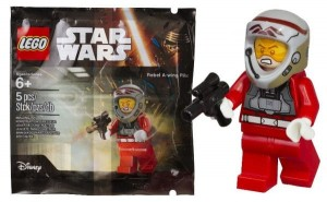 LEGO Star Wars 2016 Rebel A-Wing Pilot Minifigure Polybag (Pre)