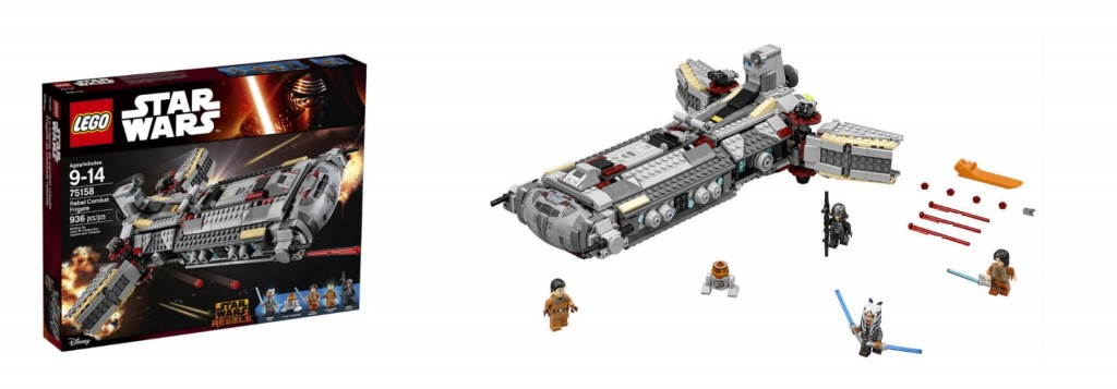 LEGO Star Wars Rebel Combat Frigate 75158 Rebel Series