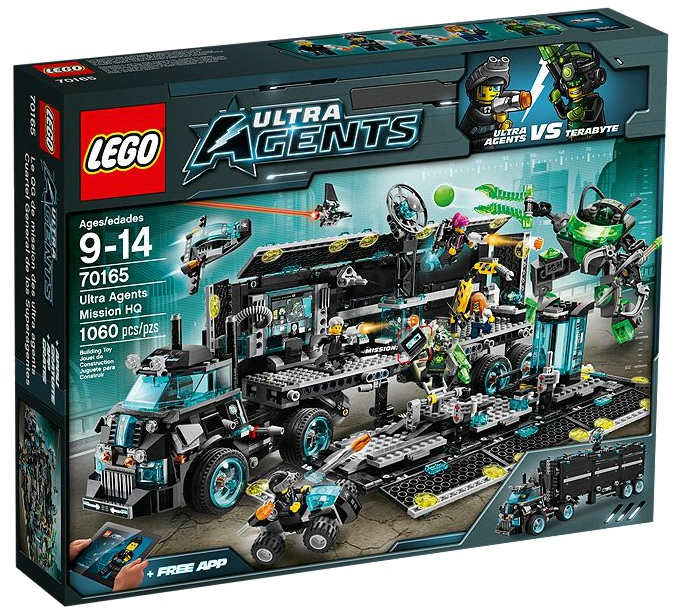 LEGO Ultra Agents 70165 Ultra Agents Mission HQ - Toysnbricks