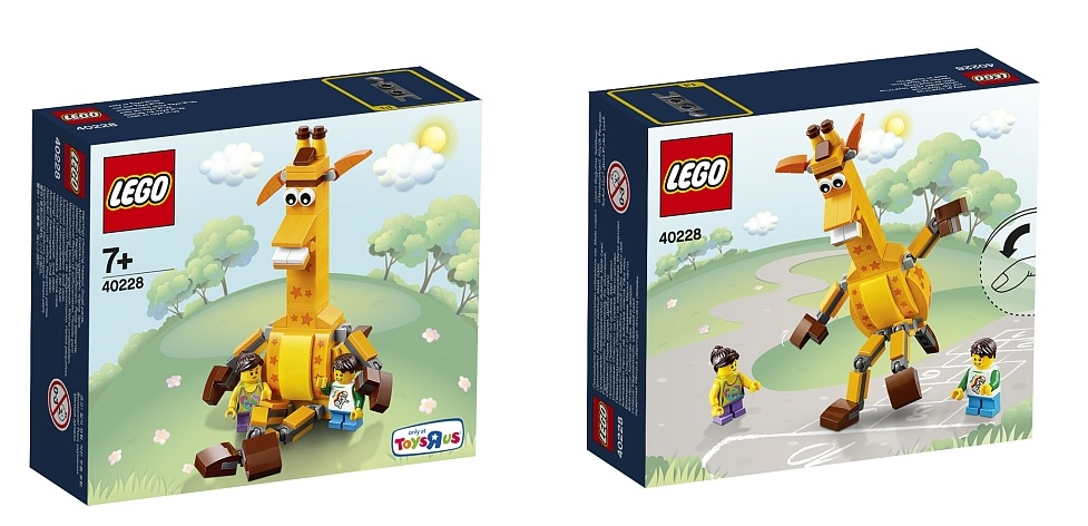 ToysRUs Exclusive LEGO 40228 Geoffrey & Friends 2016 Set