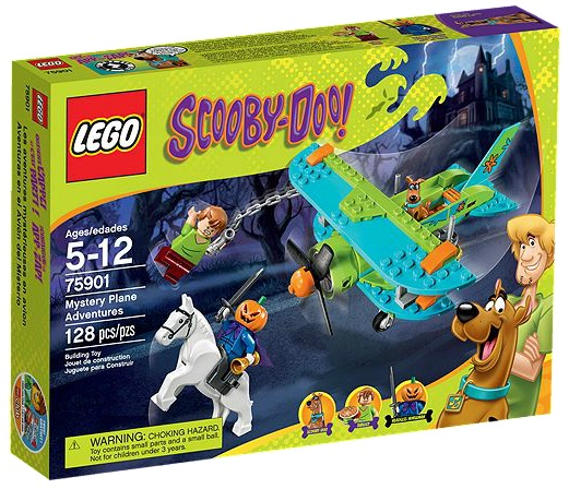 75901 LEGO Scooby-Doo Mystery Plane Adventures - Toysnbricks