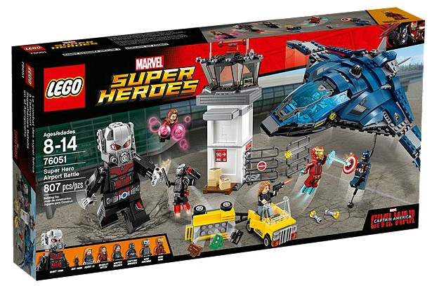 76051 LEGO Marvel Super Heroes Airport Battle - Toysnbricks