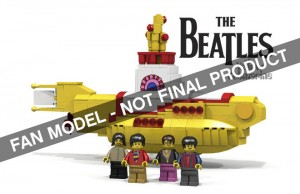 Beatles Yellow Submarine by Kevin Szeto LEGO Ideas 2015