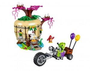 LEGO 75823 Angry Birds Bird Island Egg Heist - Toysnbricks