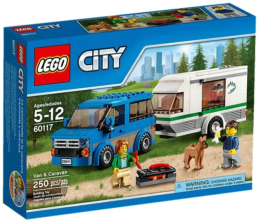 LEGO City 60117 Van & Caravan - Toysnbricks