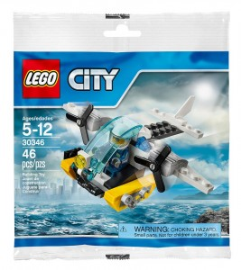 LEGO City Prison Island Helicopter 30346 Polybag Set ToysRUs - Toysnbricks