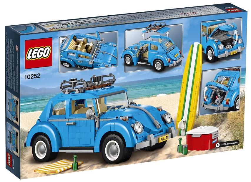 LEGO Creator Expert 10252 Volkswagen Beetle Back Box - Toysnbricks