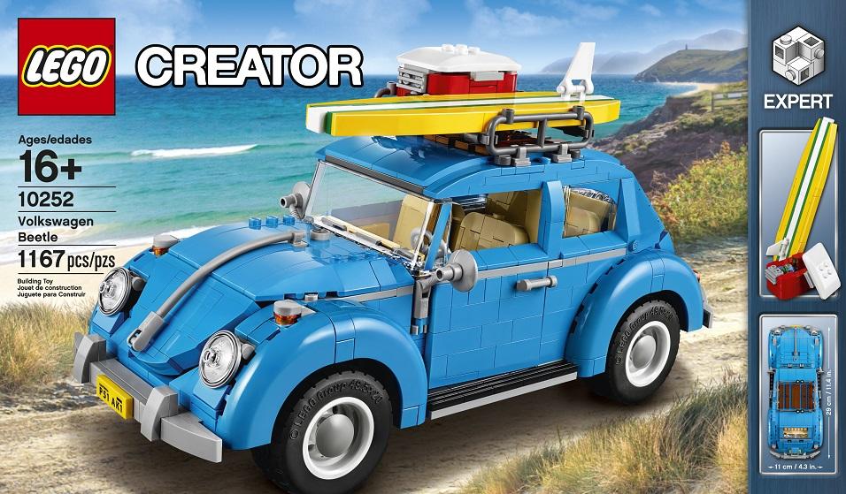 LEGO Creator Expert 10252 Volkswagen Beetle - Toysnbricks