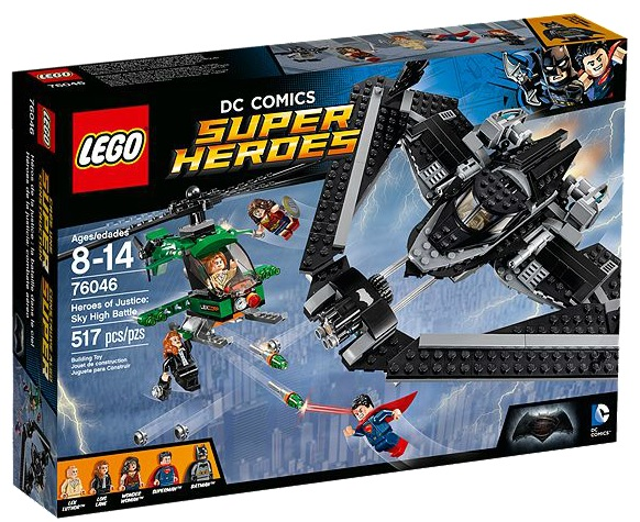 LEGO DC Comics Super Heroes 76046 Heroes of Justice Sky High Battle - Toysnbricks