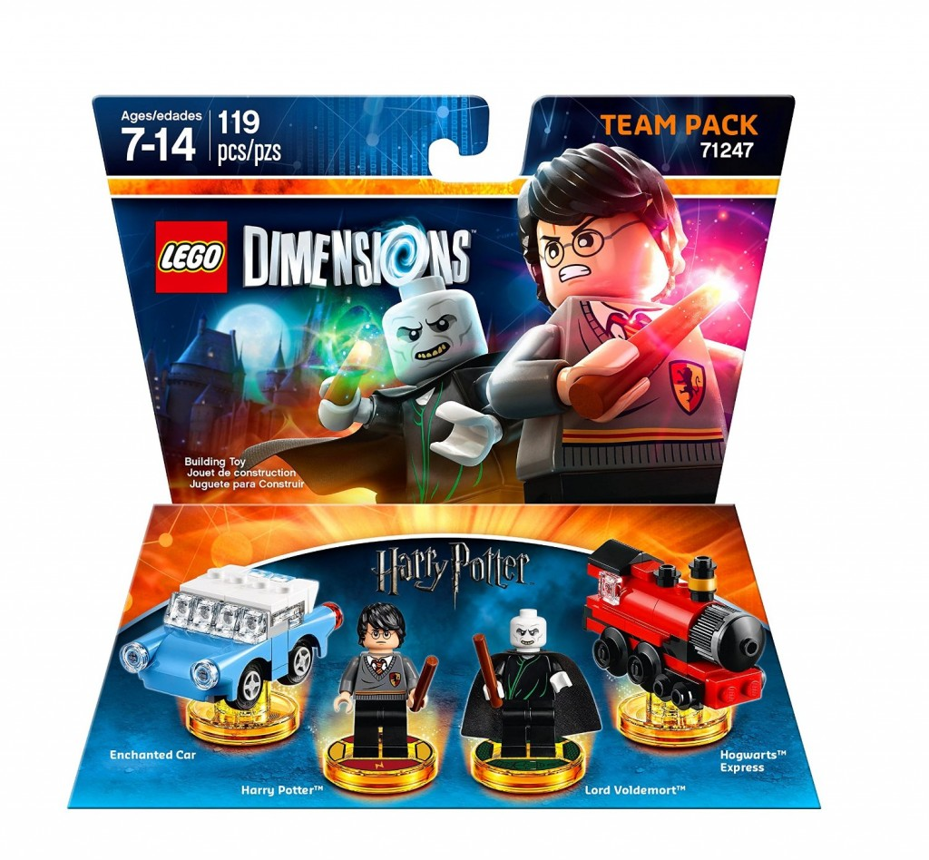 LEGO Dimensions 71247 Harry Potter Team Pack - Toysnbricks