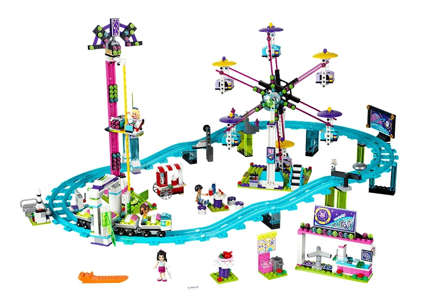 LEGO Friends 41130 Amusement Park Roller Coaster - Toysnbricsk