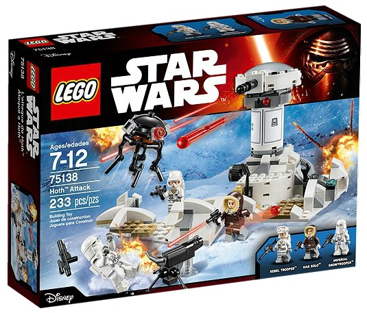 LEGO Star Wars 75138 Hoth Attack- Toysnbricks