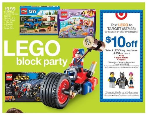 USA Target June 2016 LEGO Sale