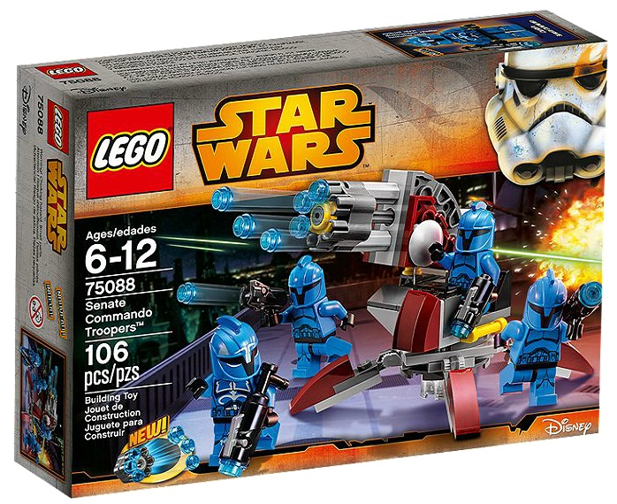 75088 LEGO Star Wars Senate Commando Troopers - Toysnbricks