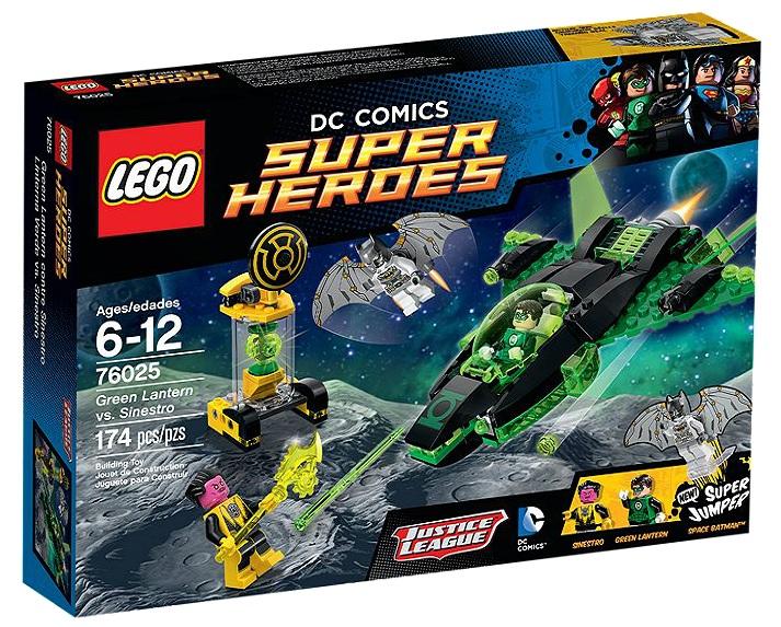 76025 LEGO DC Comics Super Heroes Green Lantern vs. Sinestro - Toysnbricks