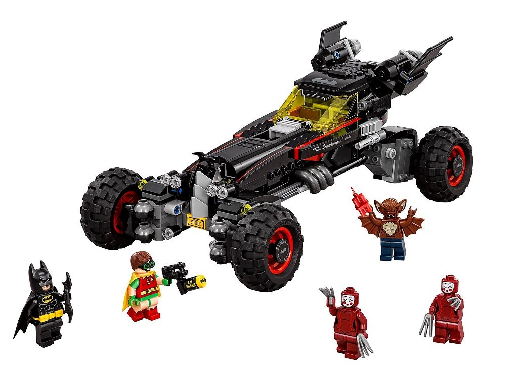 LEGO 70905 DC Comics Super Heroes The Batmobile 2017