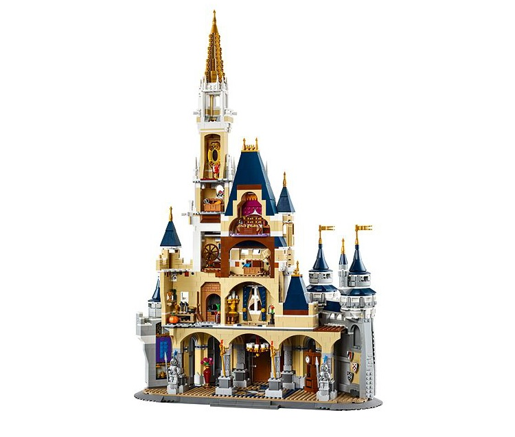 LEGO 71040 The Disney Castle Interior Back - Toysnbricks