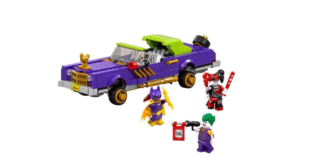 LEGO DC Comics Super Heroes 70906 Joker Notorious Lowrider 2016