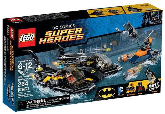 LEGO DC Comics Super Heroes 76034 The Batboat Harbor Pursuit - Toysnbricks