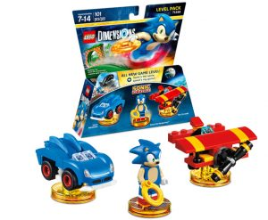 LEGO Dimensions Fantastic 71244 Sonic The Hedgehog Level Pack