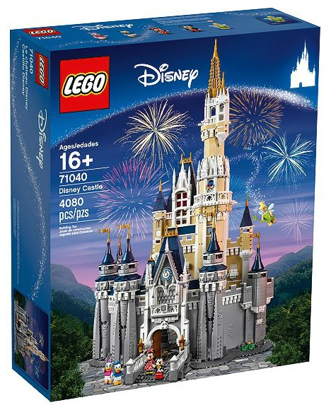 LEGO Disney Castle 71040 Box - Toysnbricks