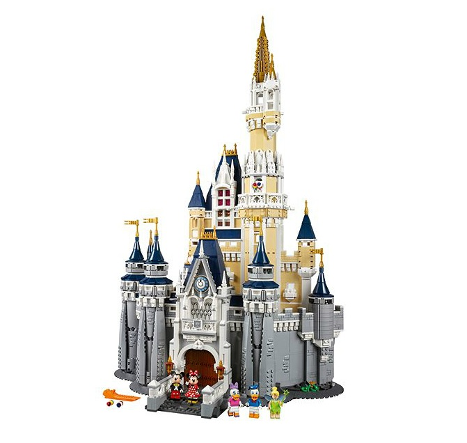 LEGO Disney Castle 71040 Full Set - Toysnbricks