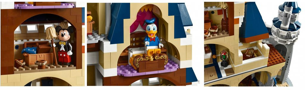 LEGO Disney Castle 71040 Set Functions - Toysnbricks