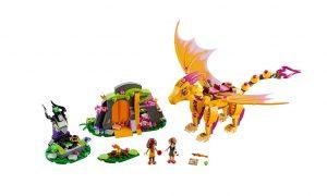 LEGO Elves 41175 Fire Dragon's Lava Cave - Toysnbricks