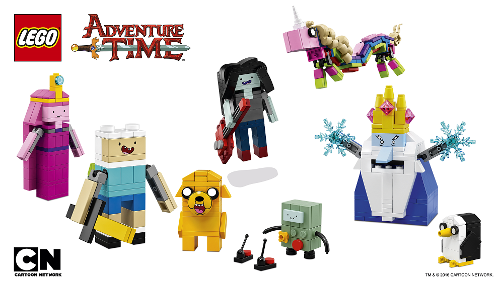 LEGO Ideas 21308 Adventure Time Cartoon Network - Toysnbricks