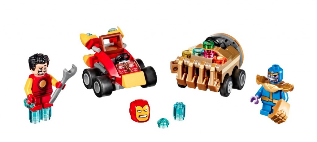 LEGO Mighty Micros Marvel 2017 Iron Man vs. Thanos