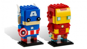 LEGO SDCC 2016 BrickHeadz Captain America and Ironman