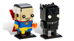 LEGO SDCC 2016 BrickHeadz Doctor Strange and Black Panther