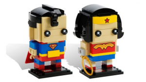 LEGO SDCC 2016 BrickHeadz Superman and Wonder Woman