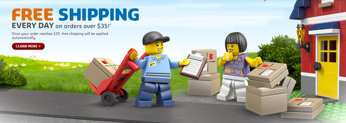 LEGO Shop at Home North America – Now FREE Shipping on Orders ...