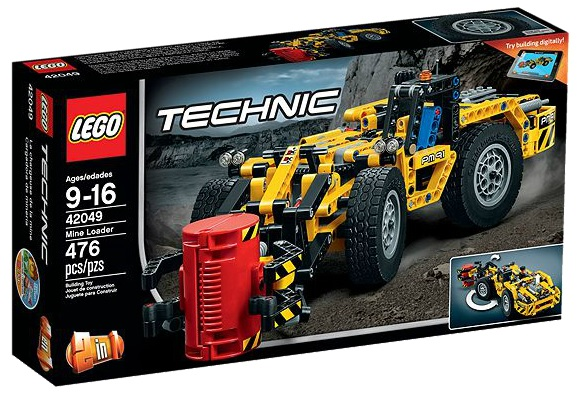 LEGO Technic 42049 Mine Loader - Toysnbricks