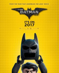 The LEGO Batman Movie 2017 Poster