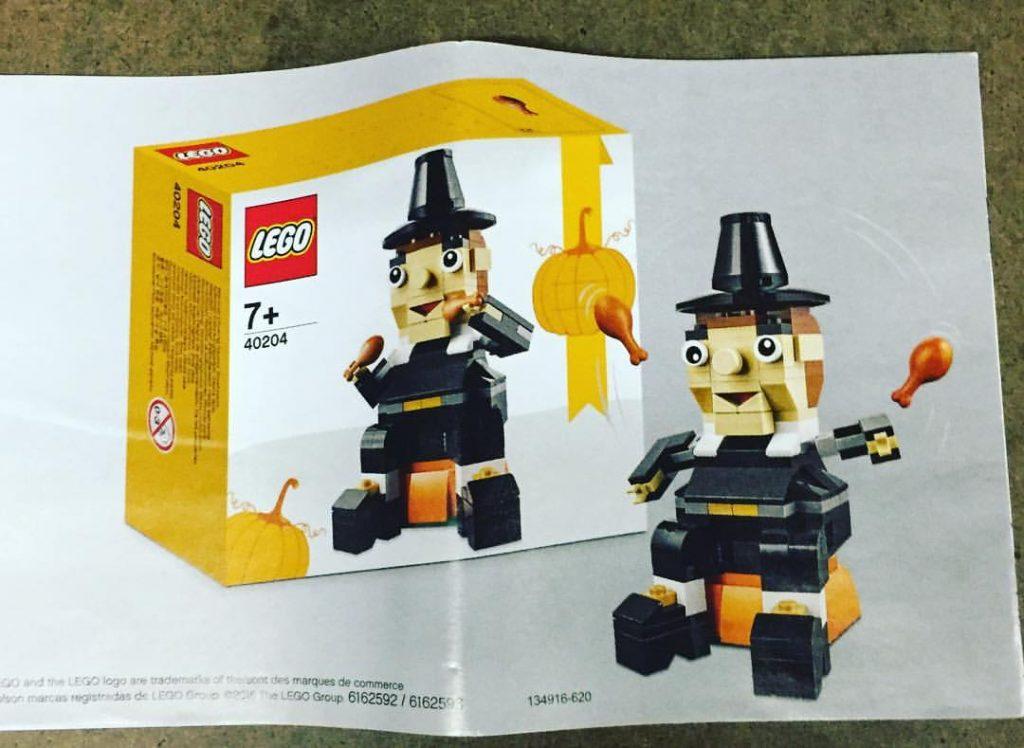 LEGO 40204 Thanksgiving Pilgrim 2016