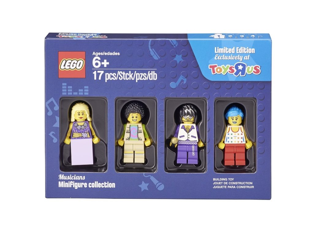 LEGO 55004421 Musicians Minifigure Collection ToysRUs Limited Edition 2016 Box