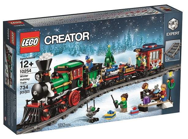 LEGO Creator Expert 10254 Winter Holiday Train 2016 Box - Toysnbricks